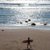 Photo Biarritz surfeur côte des basques