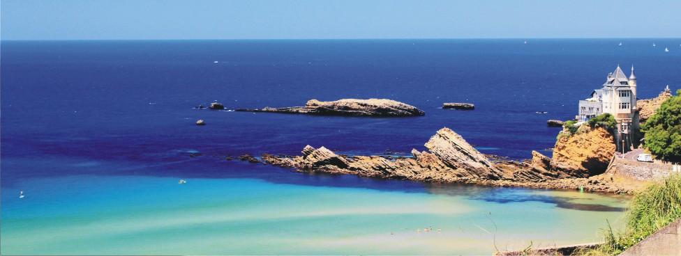 A 11 km de la grande plage de Biarritz, destination phare de la côte atlantique