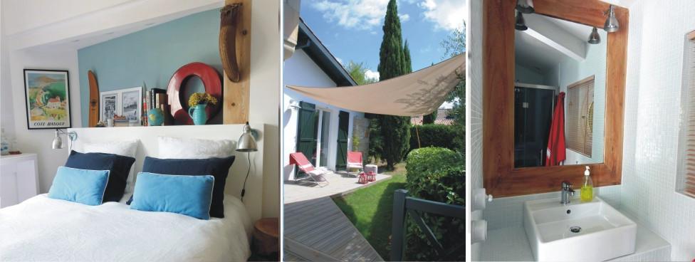 Chambre d 39 hotes charme design pays basque biarritz - Chambres d hotes de charme pays basque ...