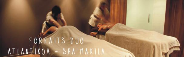 Les forfaits Duo Atlantikoa / Spa Makila