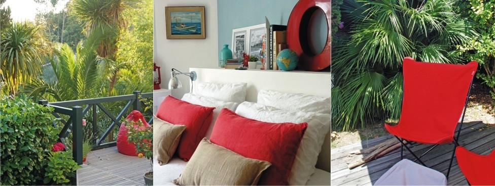 Votre chambre indépendante avec terrasse de plain-pied sur le jardin