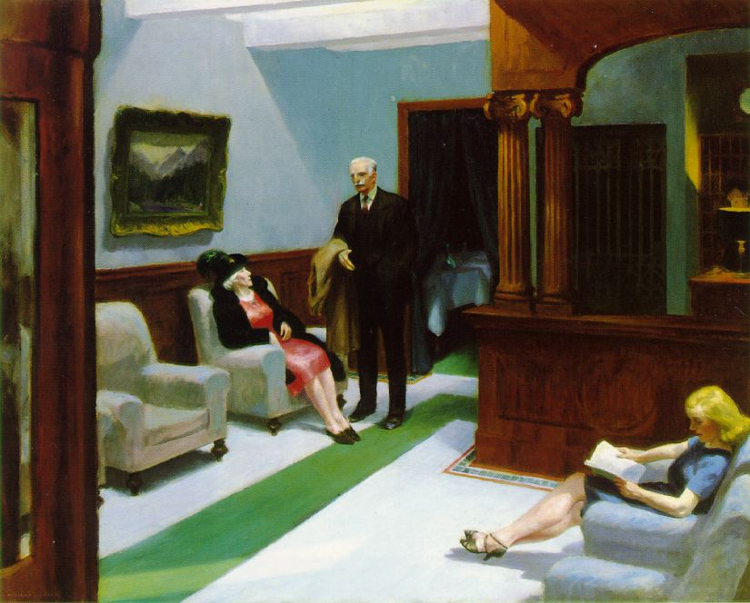 Exposition edward hopper paris grand palais atlantikoa chambre d 39 h tes - Edward hopper maison ...
