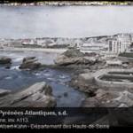 Autochrome Biarritz - Musée Albert Kahn