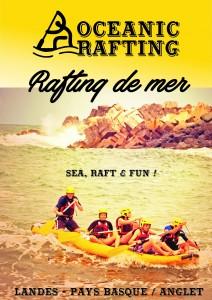 Rafting de mer Pays Basque